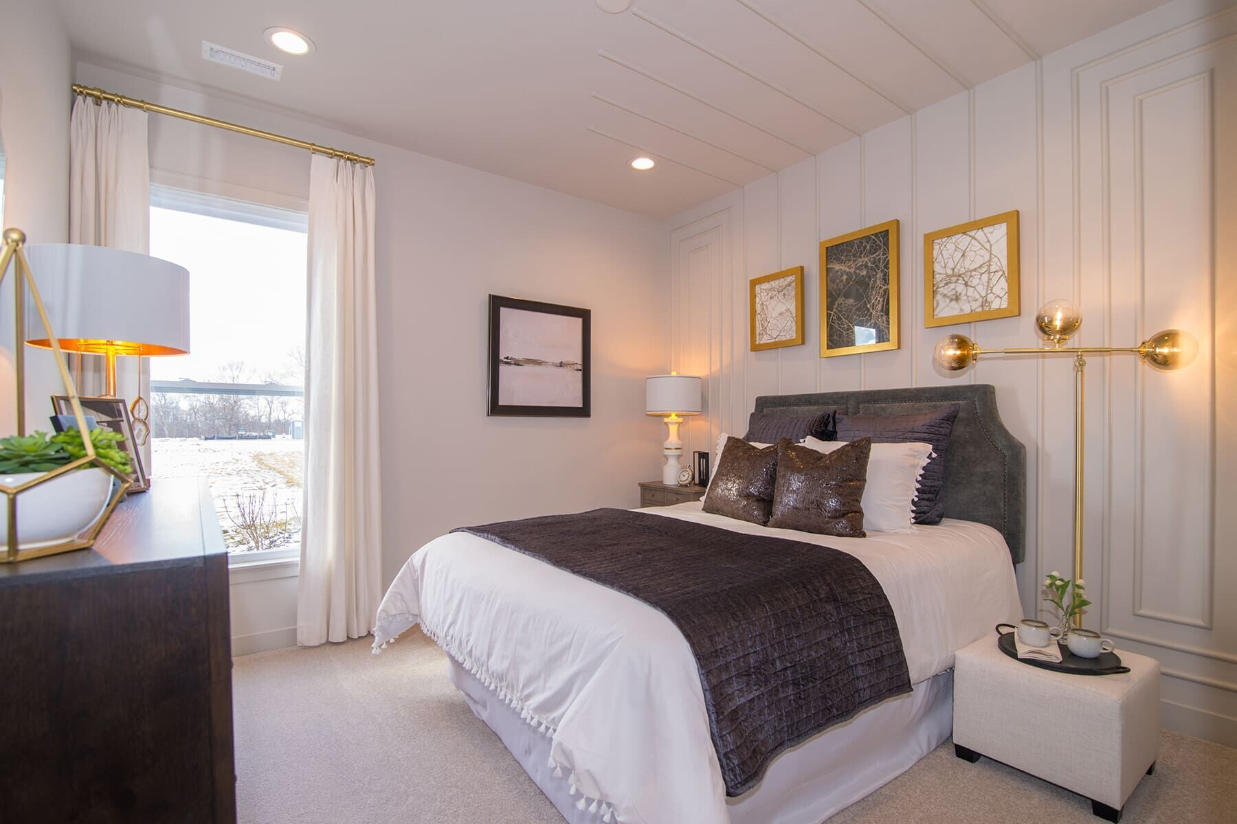 Bedroom featured in the Cascade C Slab By M/I Homes in Indianapolis, IN