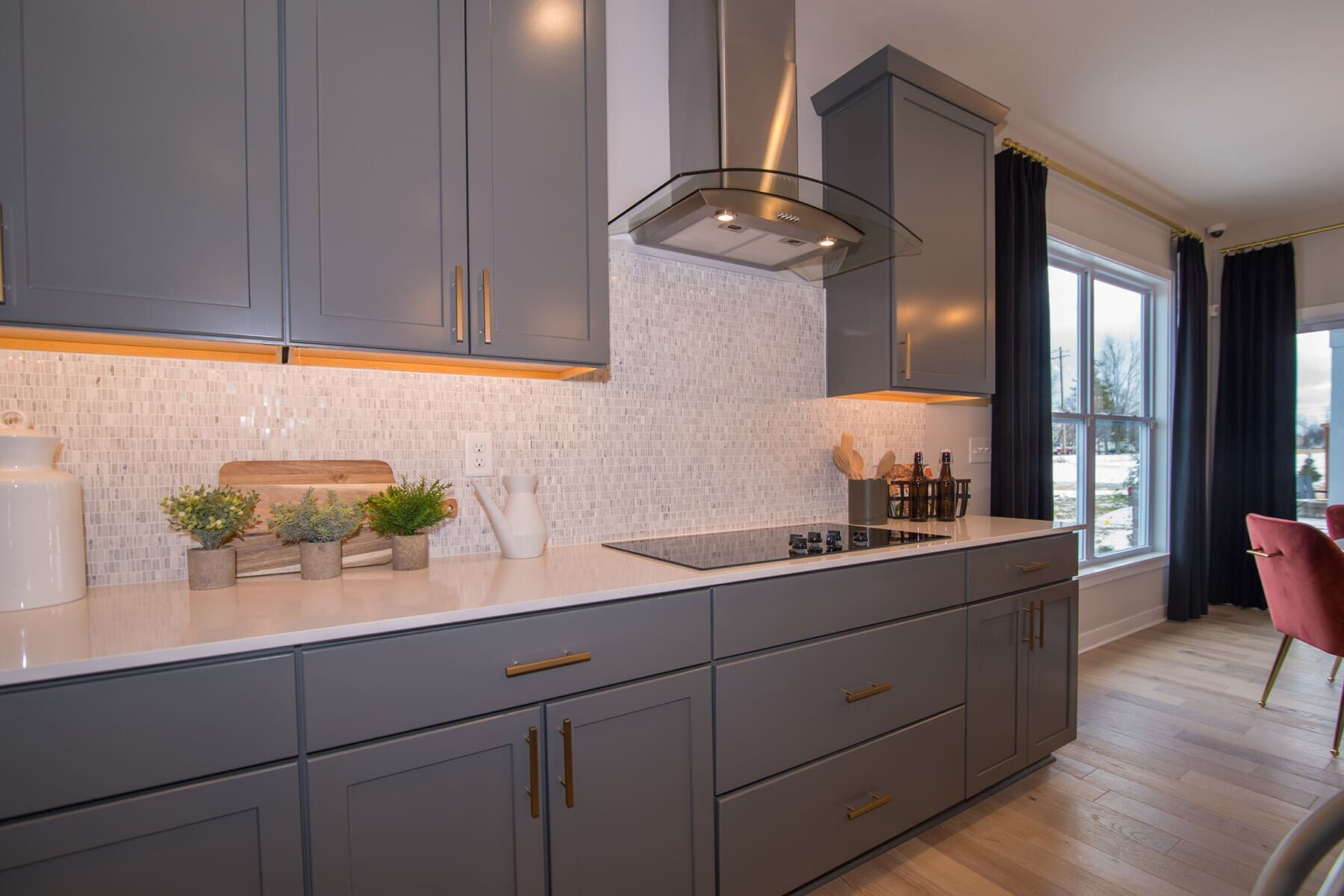 Kitchen featured in the Cascade C Slab By M/I Homes in Indianapolis, IN
