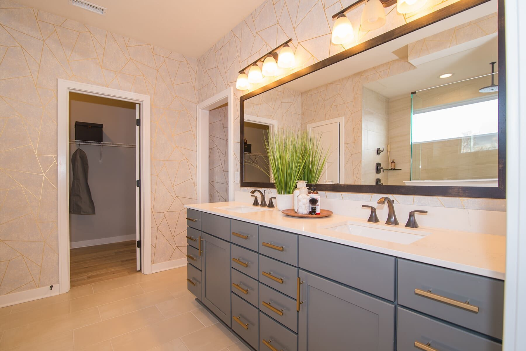 Bathroom featured in the Cascade C Slab By M/I Homes in Indianapolis, IN