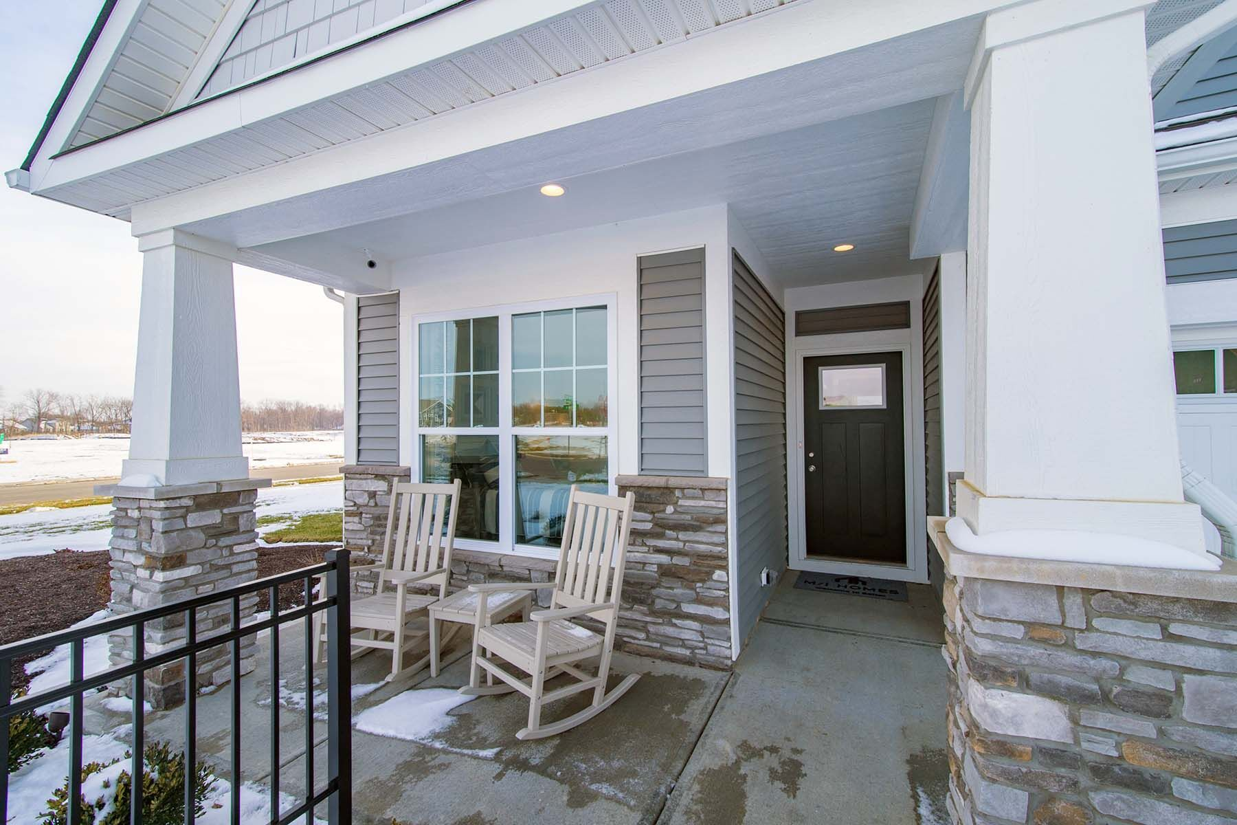 Exterior featured in the Bella Vista By M/I Homes in Indianapolis, IN
