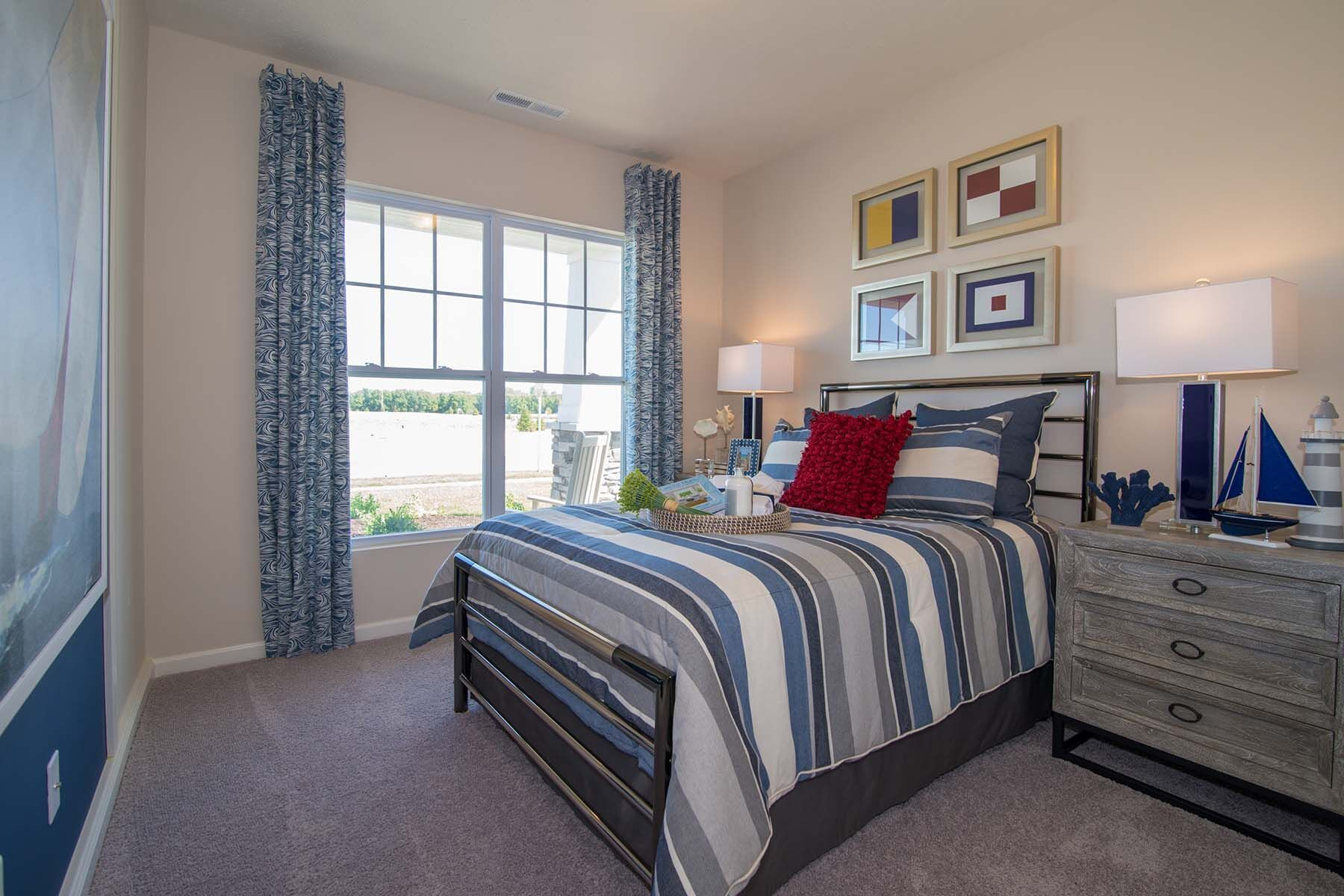 Bedroom featured in the Bella Vista By M/I Homes in Indianapolis, IN