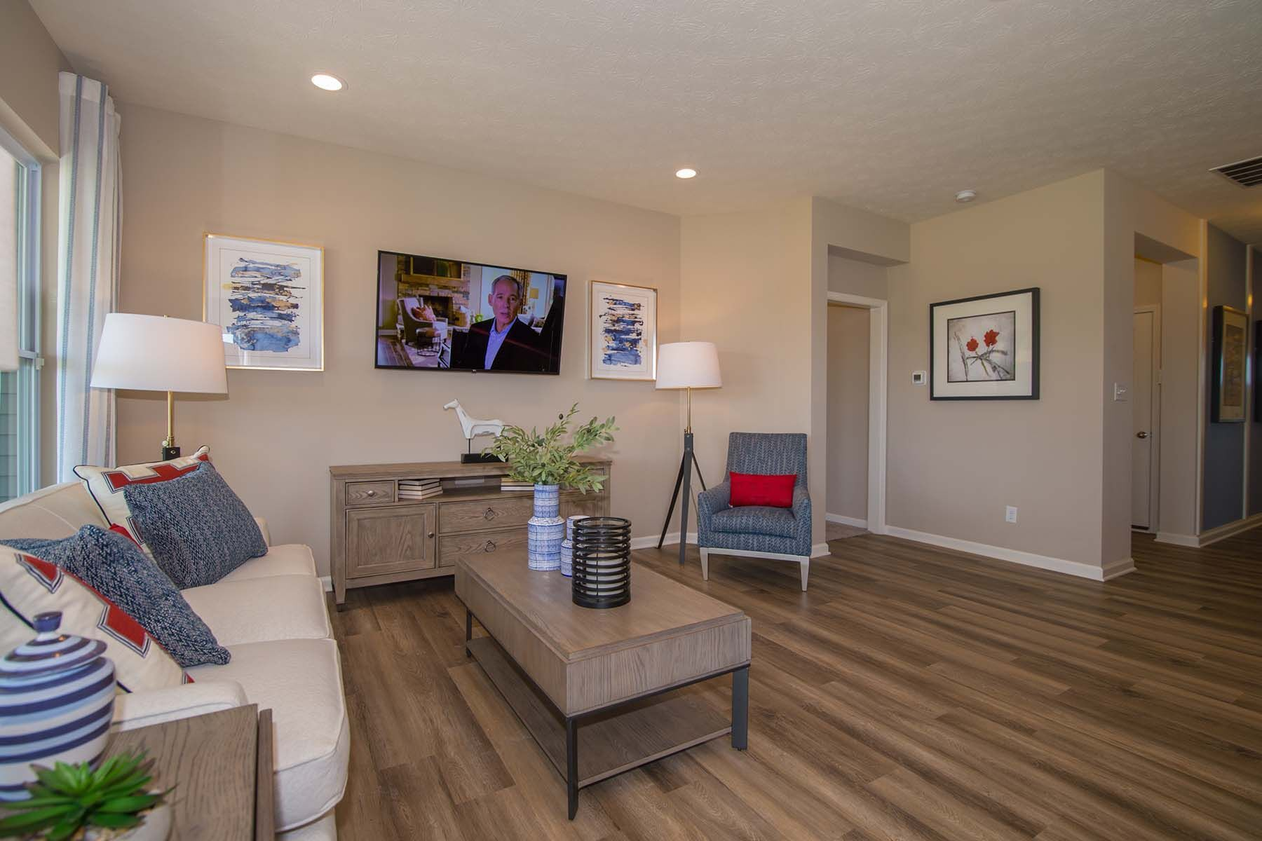 Living Area featured in the Bella Vista By M/I Homes in Indianapolis, IN