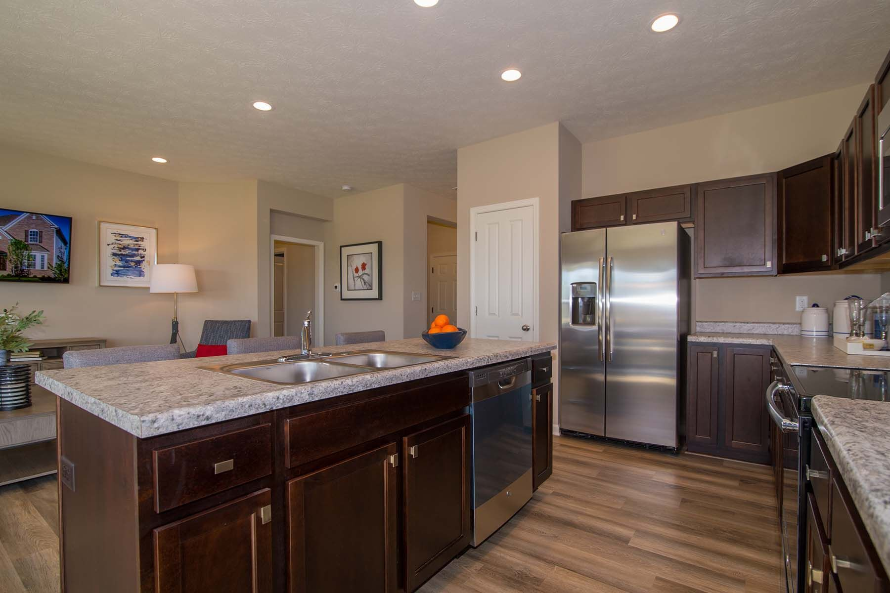 Kitchen featured in the Bella Vista By M/I Homes in Indianapolis, IN