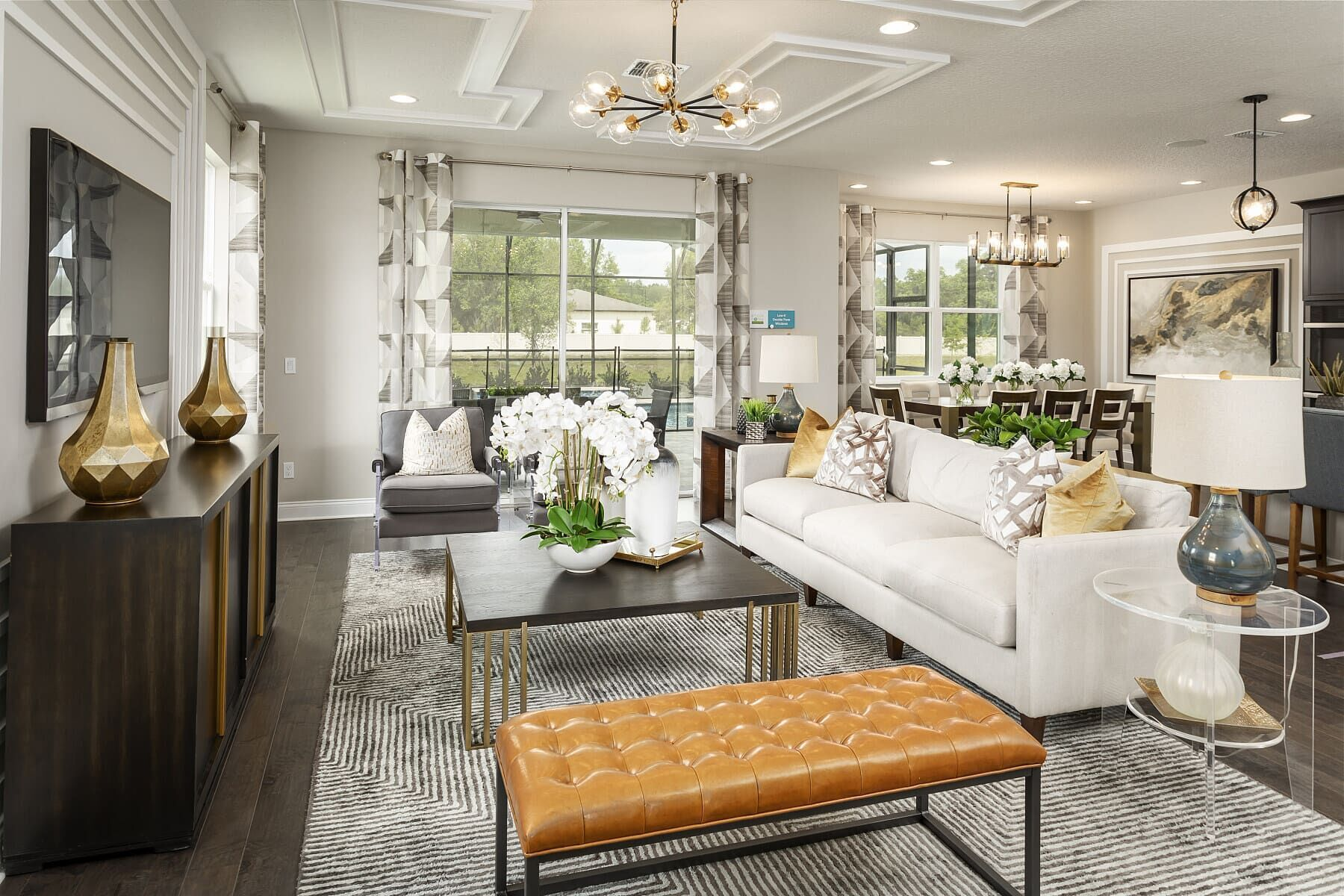Living Area featured in the Halifax By M/I Homes in Orlando, FL