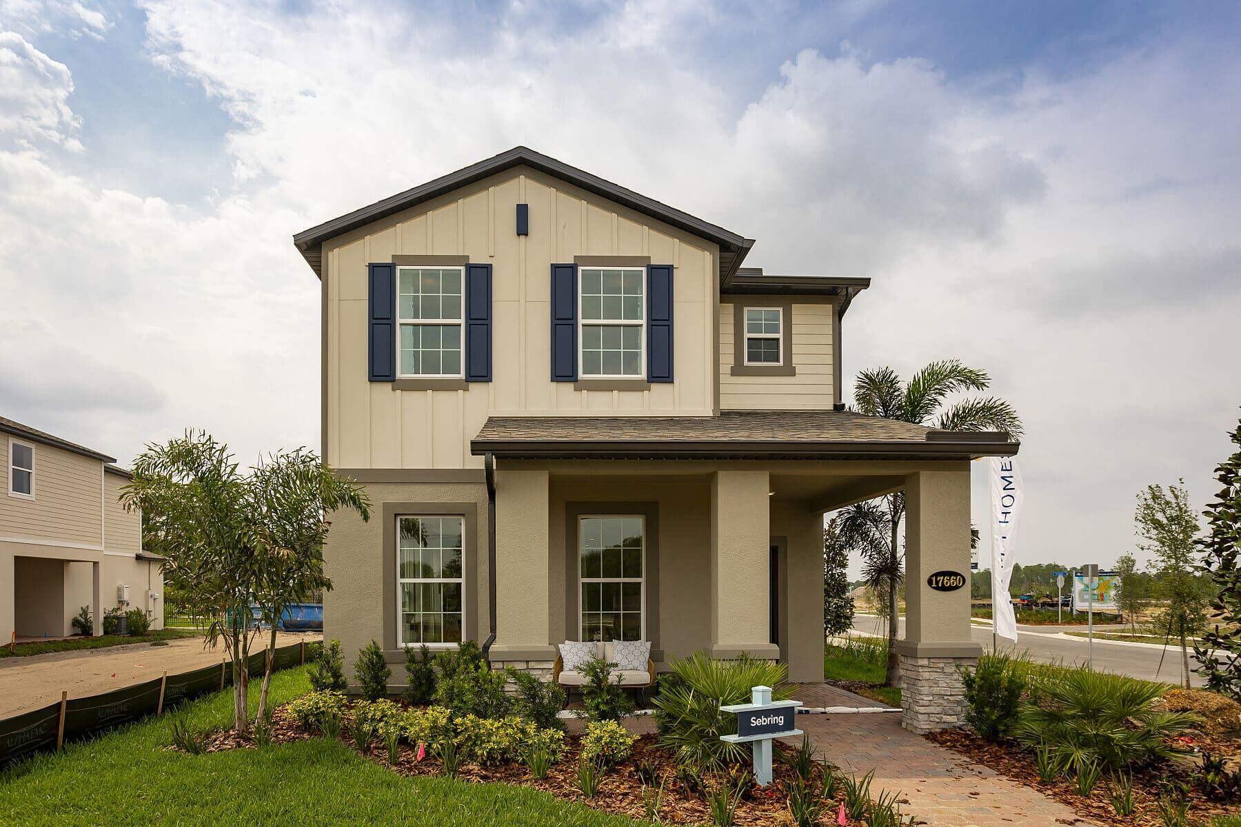 Exterior featured in the Sebring By M/I Homes in Orlando, FL