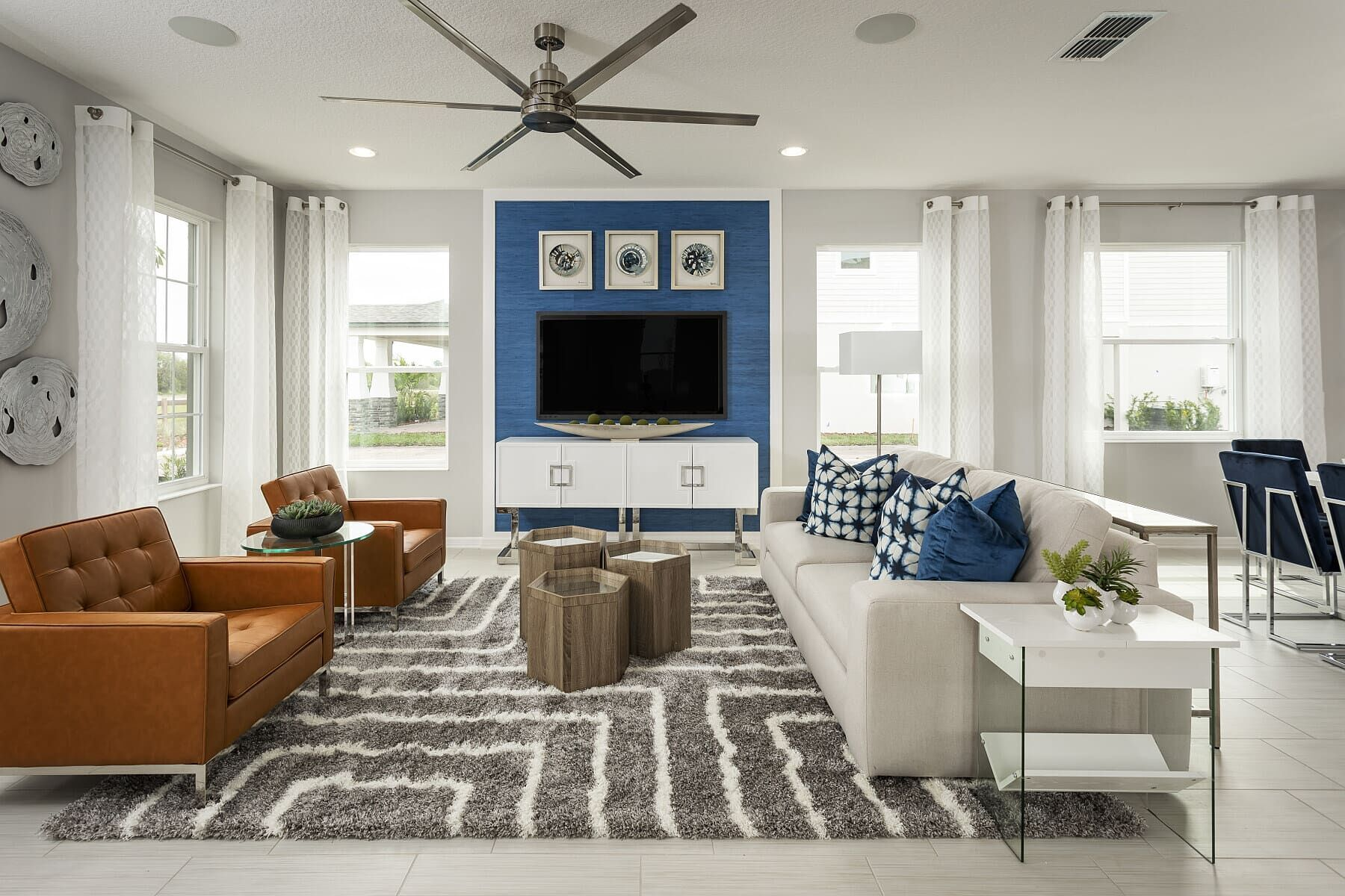 Living Area featured in the Sebring By M/I Homes in Orlando, FL