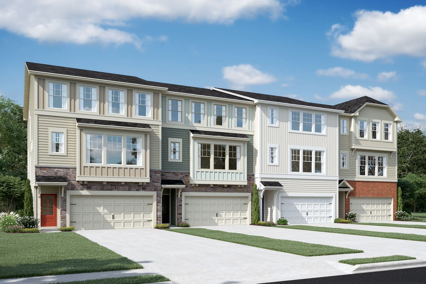 Exterior featured in the Kensington By M/I Homes in Raleigh-Durham-Chapel Hill, NC
