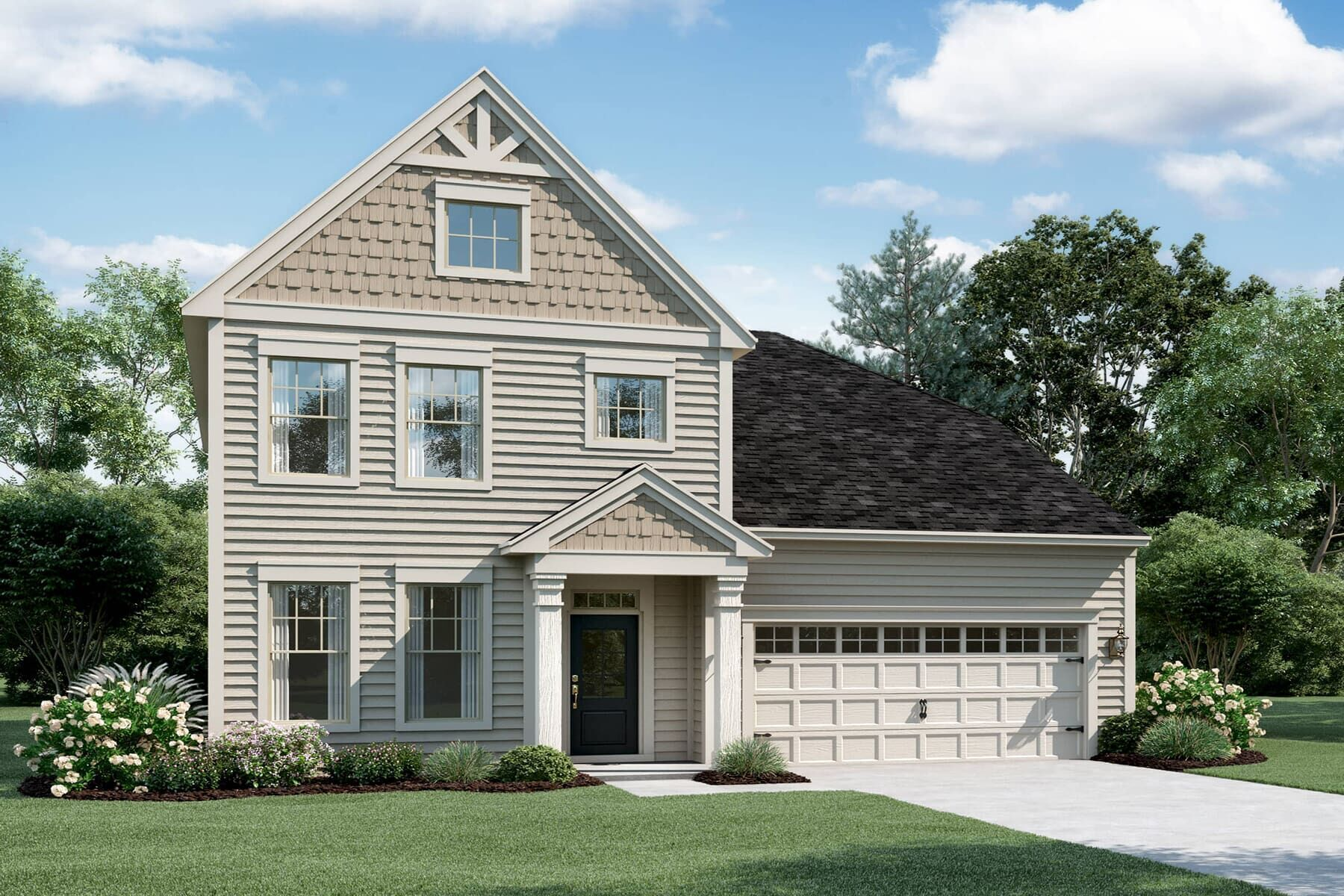 Exterior featured in the Bolton By M/I Homes in Raleigh-Durham-Chapel Hill, NC