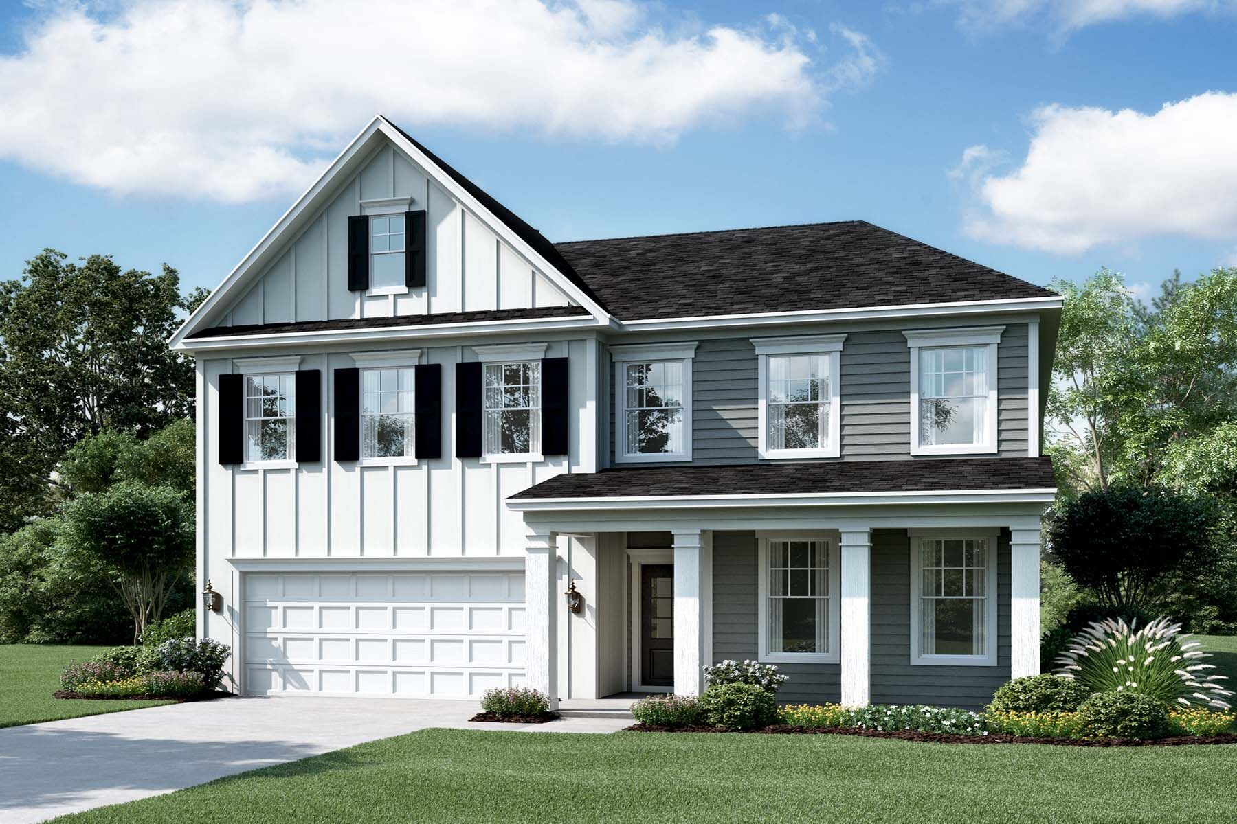 Exterior featured in the Tyler By M/I Homes in Raleigh-Durham-Chapel Hill, NC