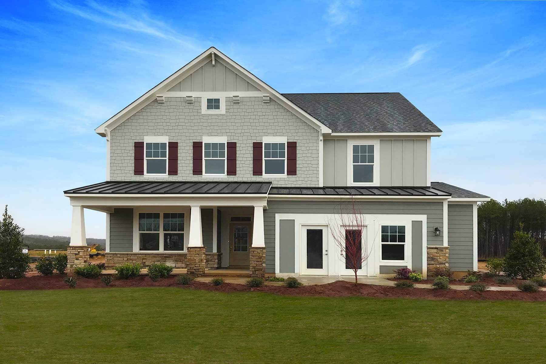 'Legacy at Jordan Lake' by M/I Homes-Raleigh in Raleigh-Durham-Chapel Hill