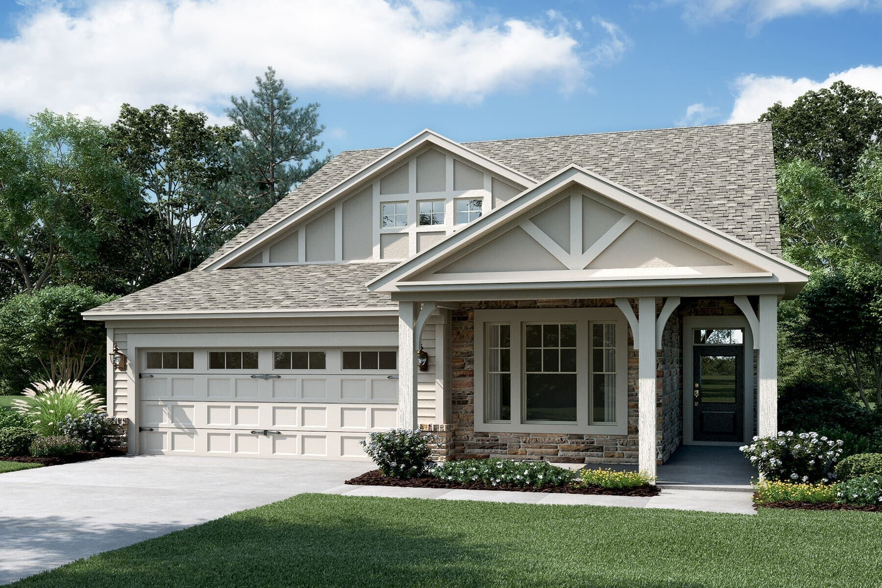Exterior featured in the Crabtree By M/I Homes in Raleigh-Durham-Chapel Hill, NC
