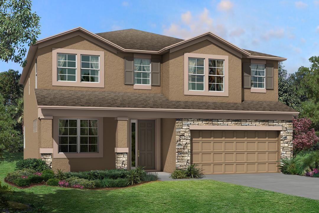 Exterior featured in the Sonoma II By M/I Homes in Tampa-St. Petersburg, FL