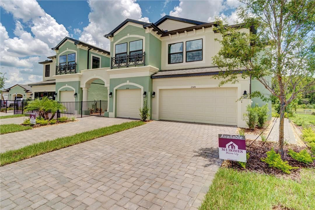 Exterior featured in the Andover II By M/I Homes in Tampa-St. Petersburg, FL