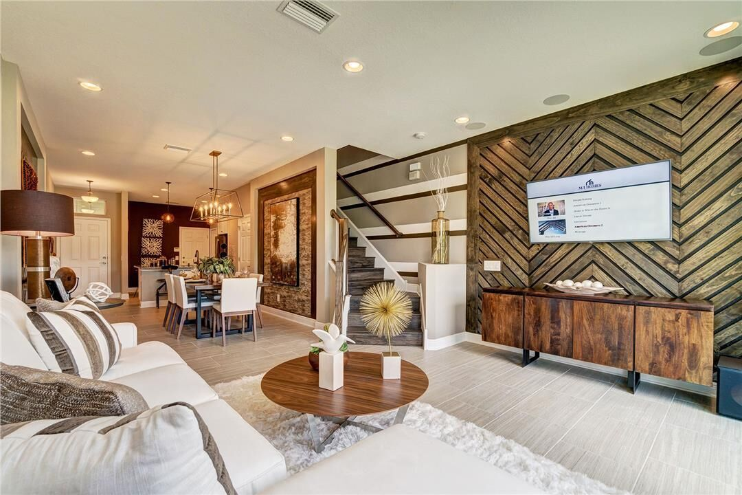Living Area featured in the Andover II By M/I Homes in Tampa-St. Petersburg, FL