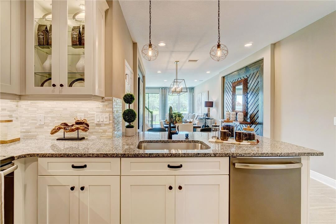 Kitchen featured in the Andover II By M/I Homes in Tampa-St. Petersburg, FL