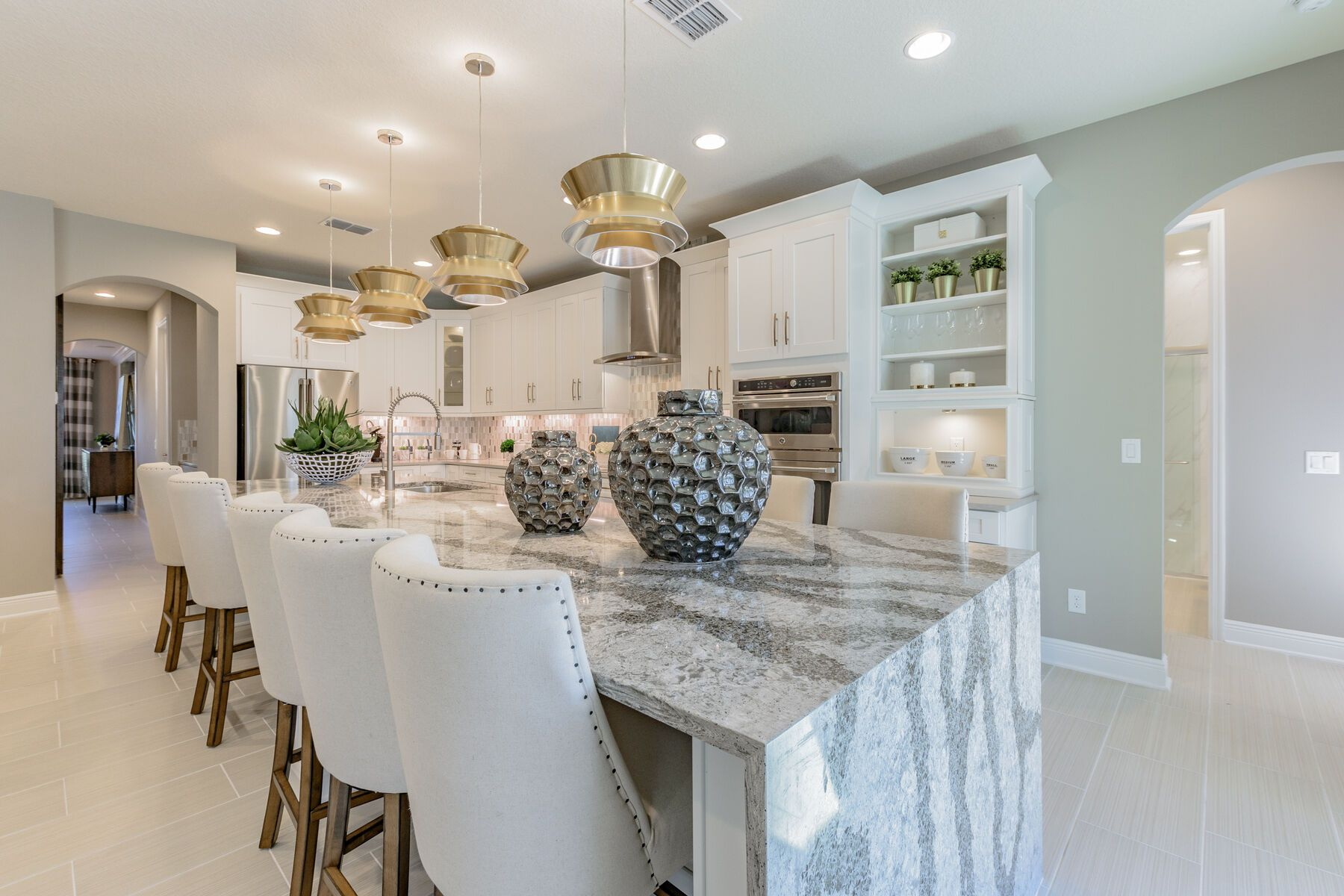 Kitchen featured in the Grandsail  III By M/I Homes in Tampa-St. Petersburg, FL