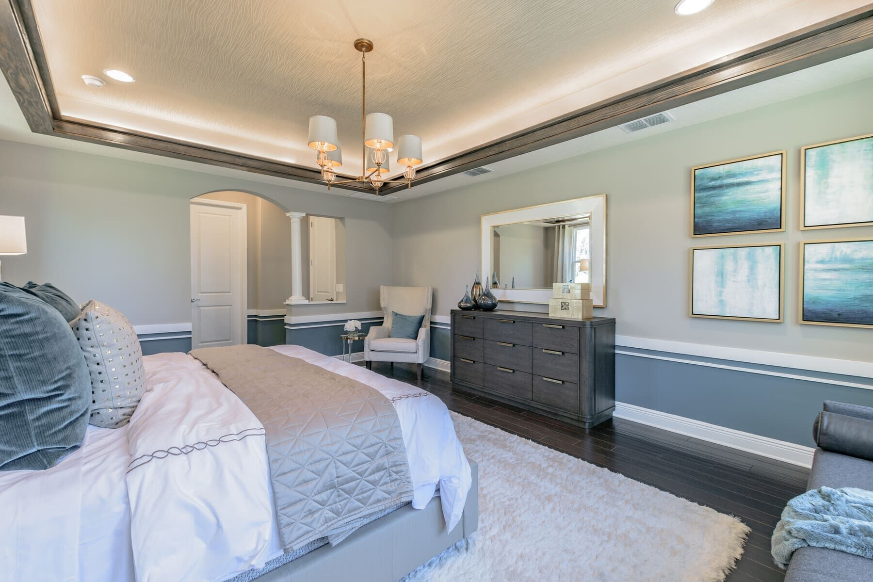 Bedroom featured in the Grandsail  III By M/I Homes in Tampa-St. Petersburg, FL