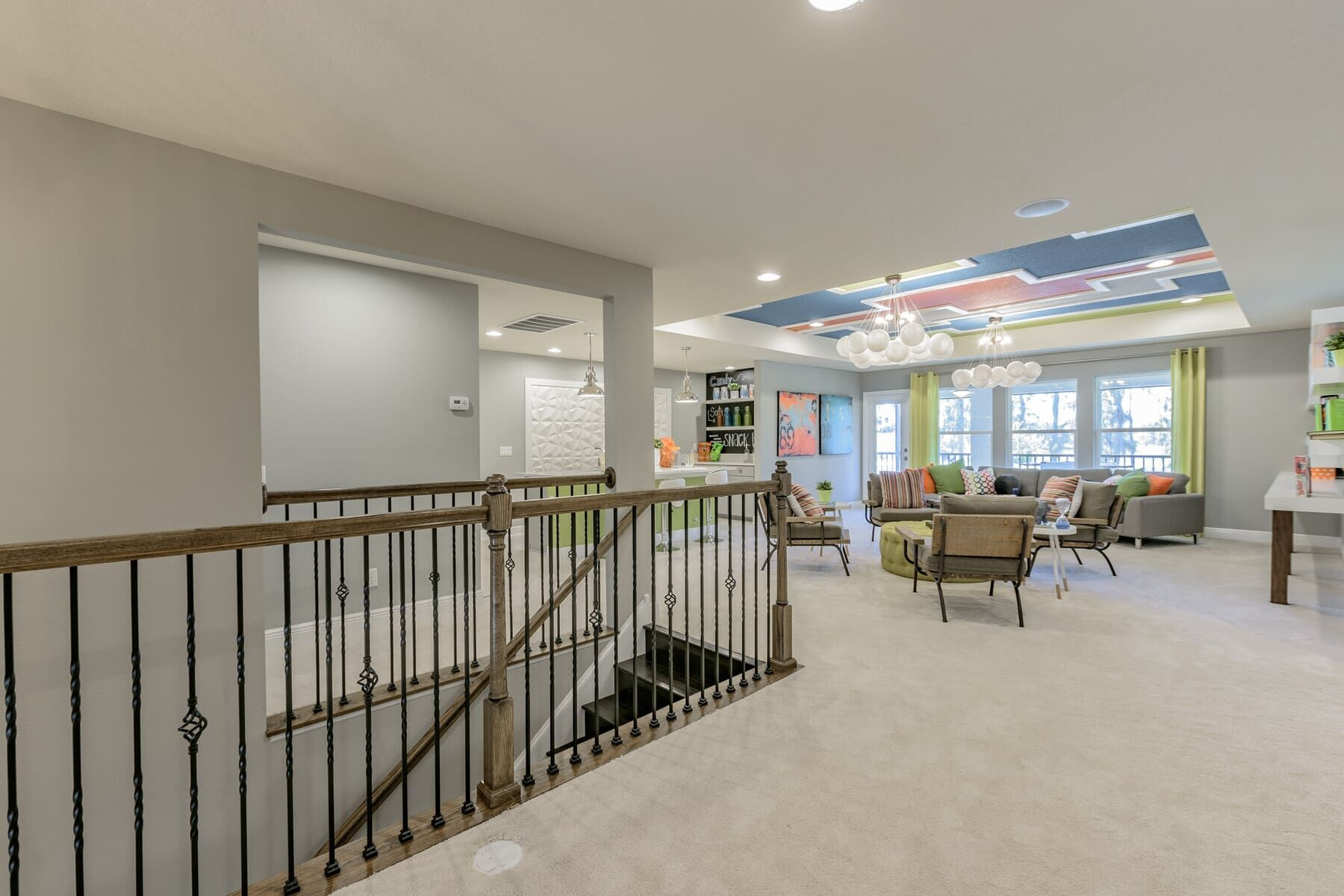 Living Area featured in the Grandsail  III By M/I Homes in Tampa-St. Petersburg, FL