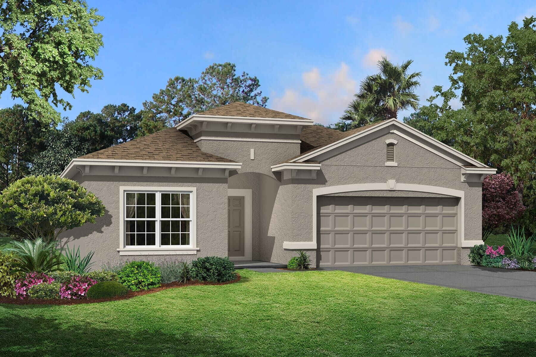 Exterior featured in the Miranda By M/I Homes in Tampa-St. Petersburg, FL