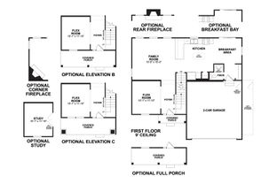 Dearborn - Homes at Foxfire: Commercial Point, Ohio - M/I Homes