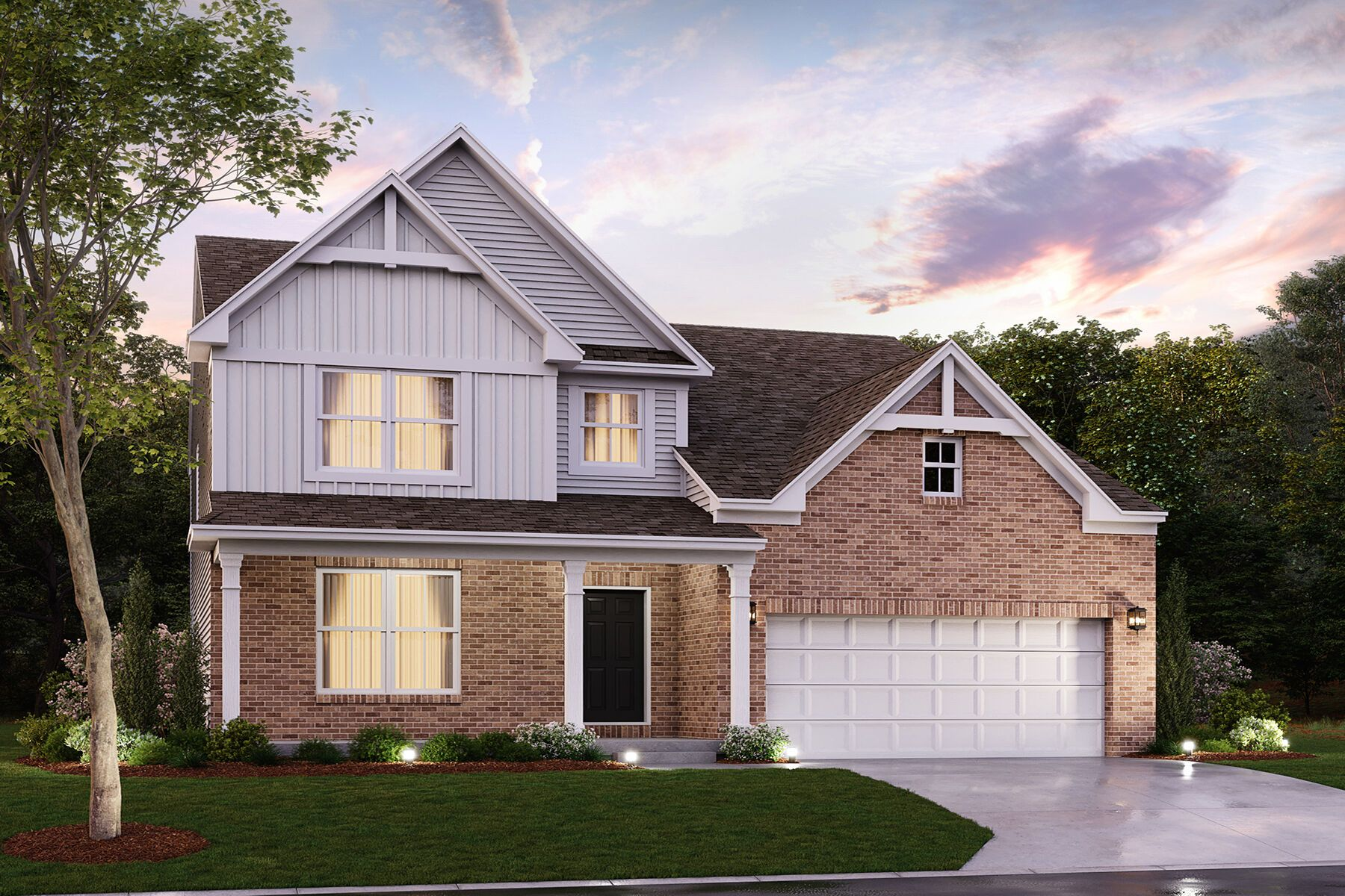 Exterior featured in the Cooke By M/I Homes in Dayton-Springfield, OH