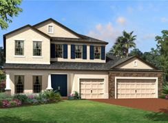 Tradewinds Fl - Hideaway Cove: Oviedo, Florida - M/I Homes