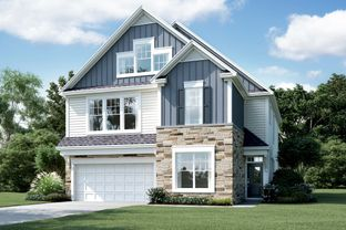 Brittain - Grove At White Oak: Garner, North Carolina - M/I Homes