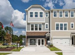 Buckingham - Ellis Crossing Townes: Durham, North Carolina - M/I Homes