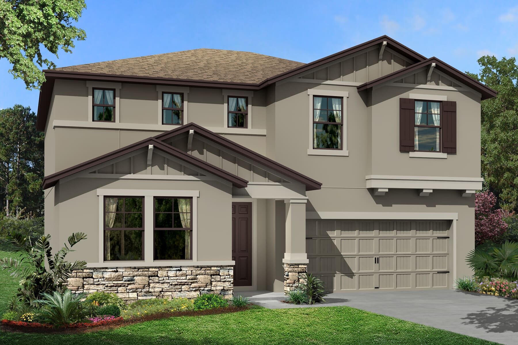 Exterior featured in the Renau By M/I Homes in Tampa-St. Petersburg, FL