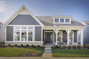 Charleston - Retreat at Dustin: Galena, Ohio - M/I Homes