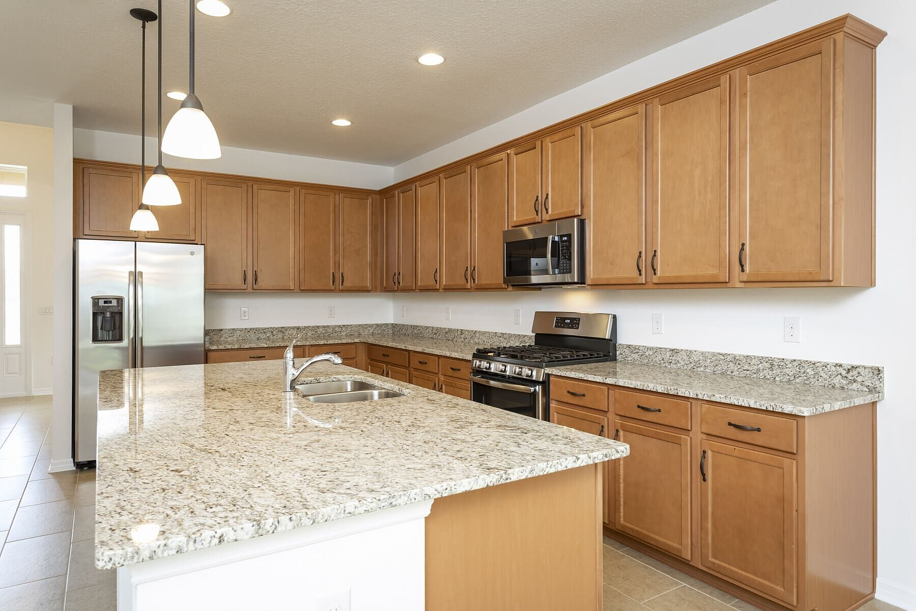 Kitchen featured in the Dorchester By M/I Homes in Orlando, FL