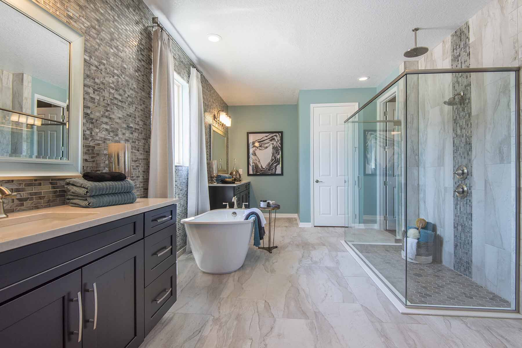 Bathroom featured in the Tradewinds Fl By M/I Homes in Orlando, FL