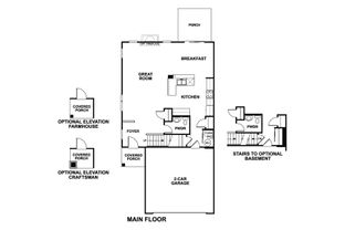 Campbell - The Townes at Silo Bend: Lockport, Illinois - M/I Homes