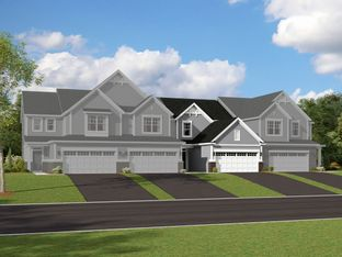 Ainslie - The Townes at Silo Bend: Lockport, Illinois - M/I Homes