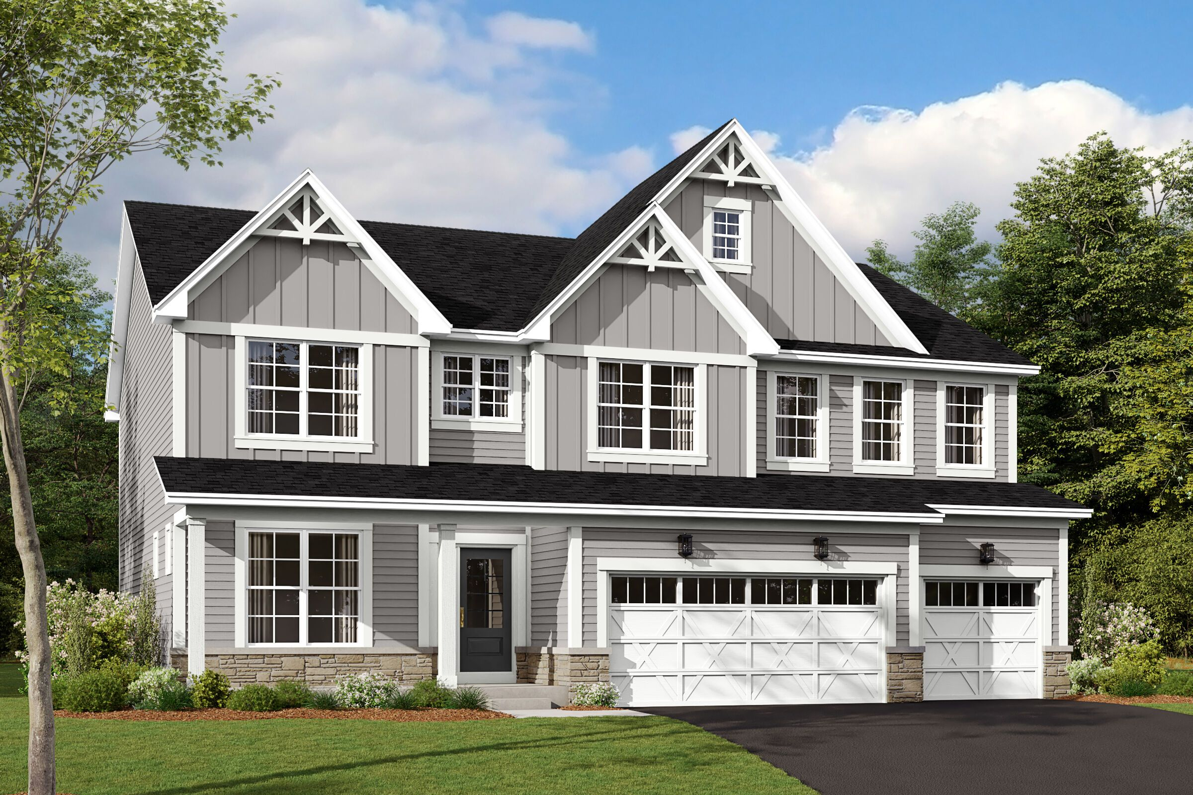 Exterior featured in the Lyndale By M/I Homes in Chicago, IL