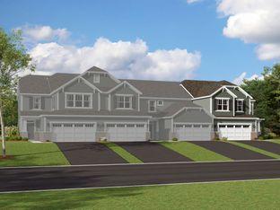 Danbury - The Townes at Lansdowne: Plainfield, Illinois - M/I Homes