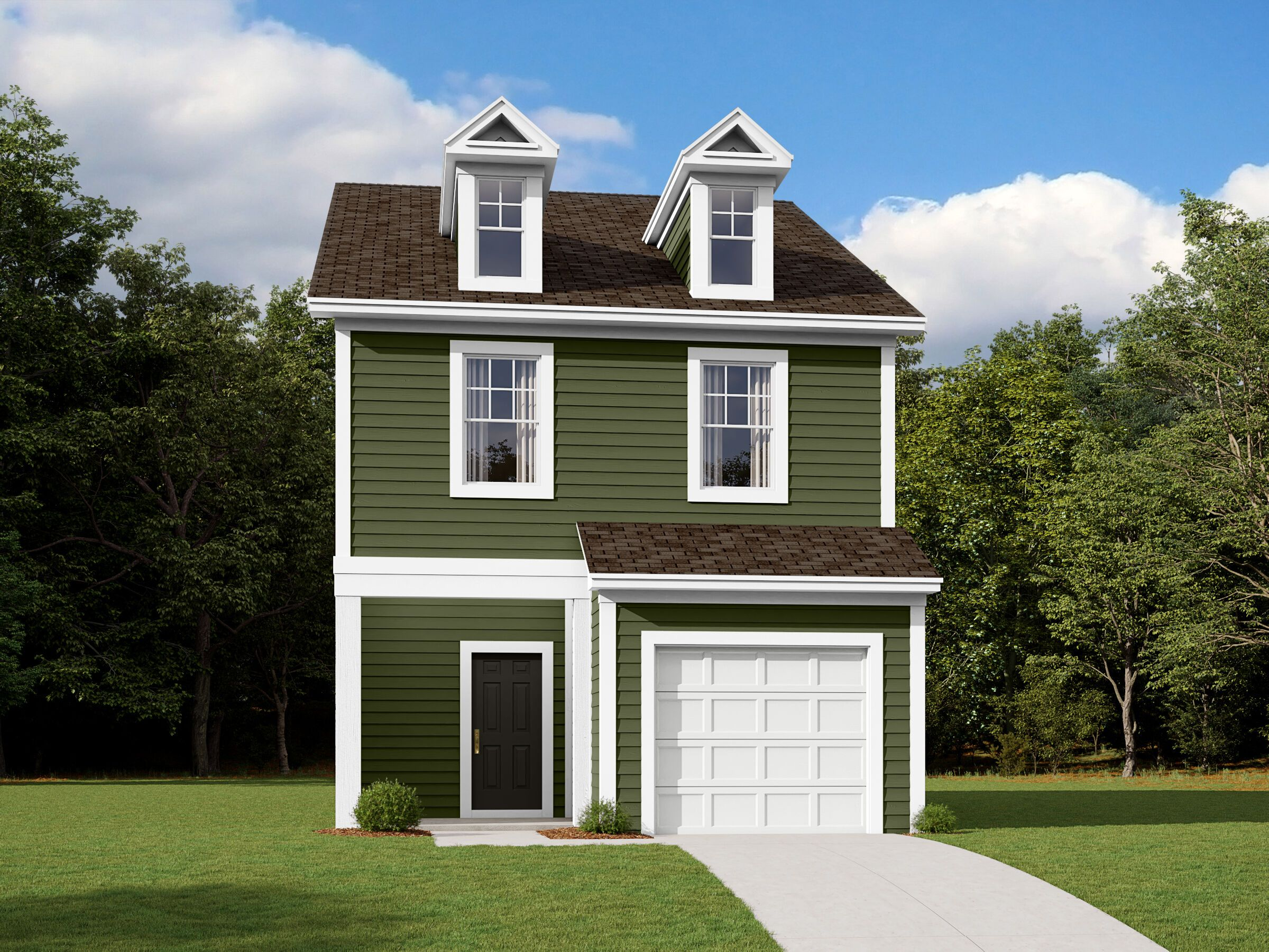 Exterior featured in the Wylie By M/I Homes in Charlotte, NC