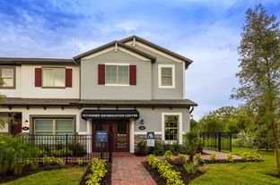 Granada - Hidden Lake Townhomes: Apopka, Florida - M/I Homes