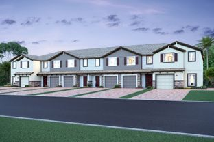 Santa Rosa - Towns at White Cedar: Sanford, Florida - M/I Homes