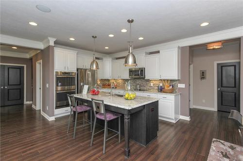 Kitchen-in-Monroe Basement-at-The Estates at Harrison Crossing-in-Greenwood