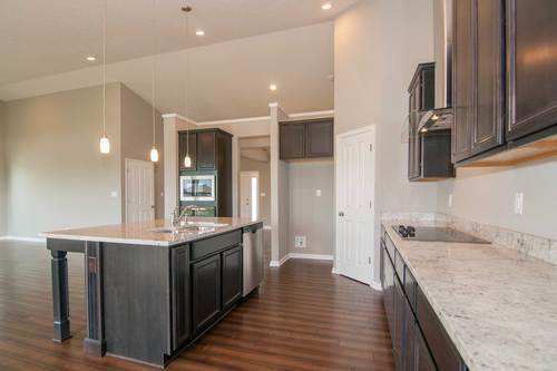 Kitchen-in-Clayton II Basement-at-Charlevoix at Saddle Club-in-Bargersville