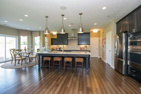 Kitchen-in-Everett Basement-at-Glenmore at Saddle Club-in-Bargersville