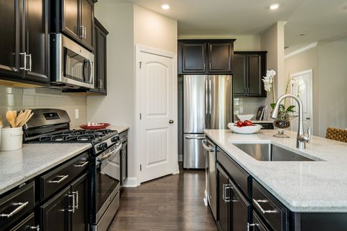Kitchen-in-Belmont-at-Andrews Chapel - Single Family-in-Durham