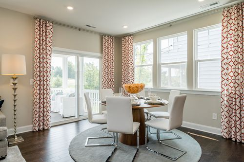 Breakfast-Room-in-Bryson-at-Andrews Chapel - Single Family-in-Durham
