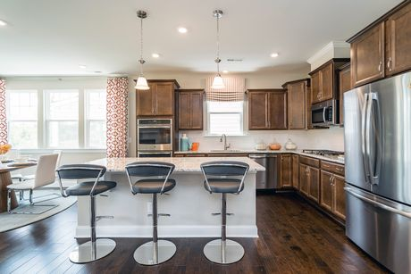 Kitchen-in-Bryson-at-Andrews Chapel - Single Family-in-Durham