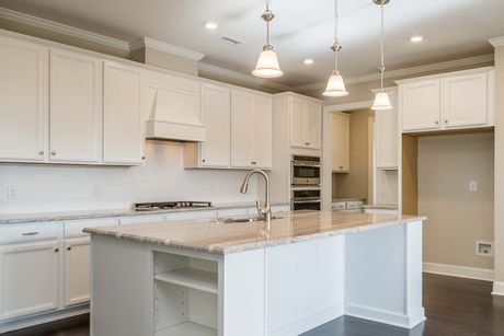 Kitchen-in-Hathaway-at-Legacy at Jordan Lake-in-Chapel Hill