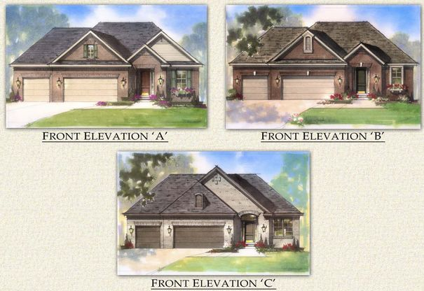728b54b1485 Townridge - 3 car garage Plan, Macomb Township, Michigan 48042 ...