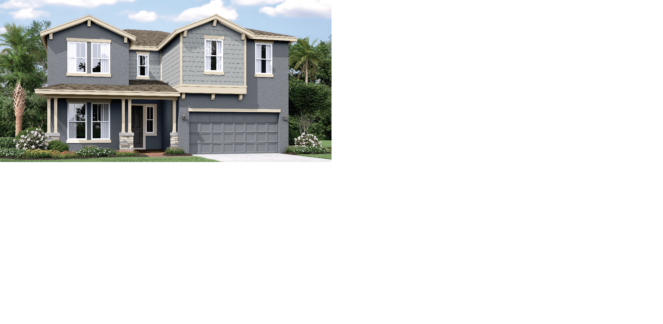 Exterior featured in the Birchwood By Mobley Homes in Tampa-St. Petersburg, FL