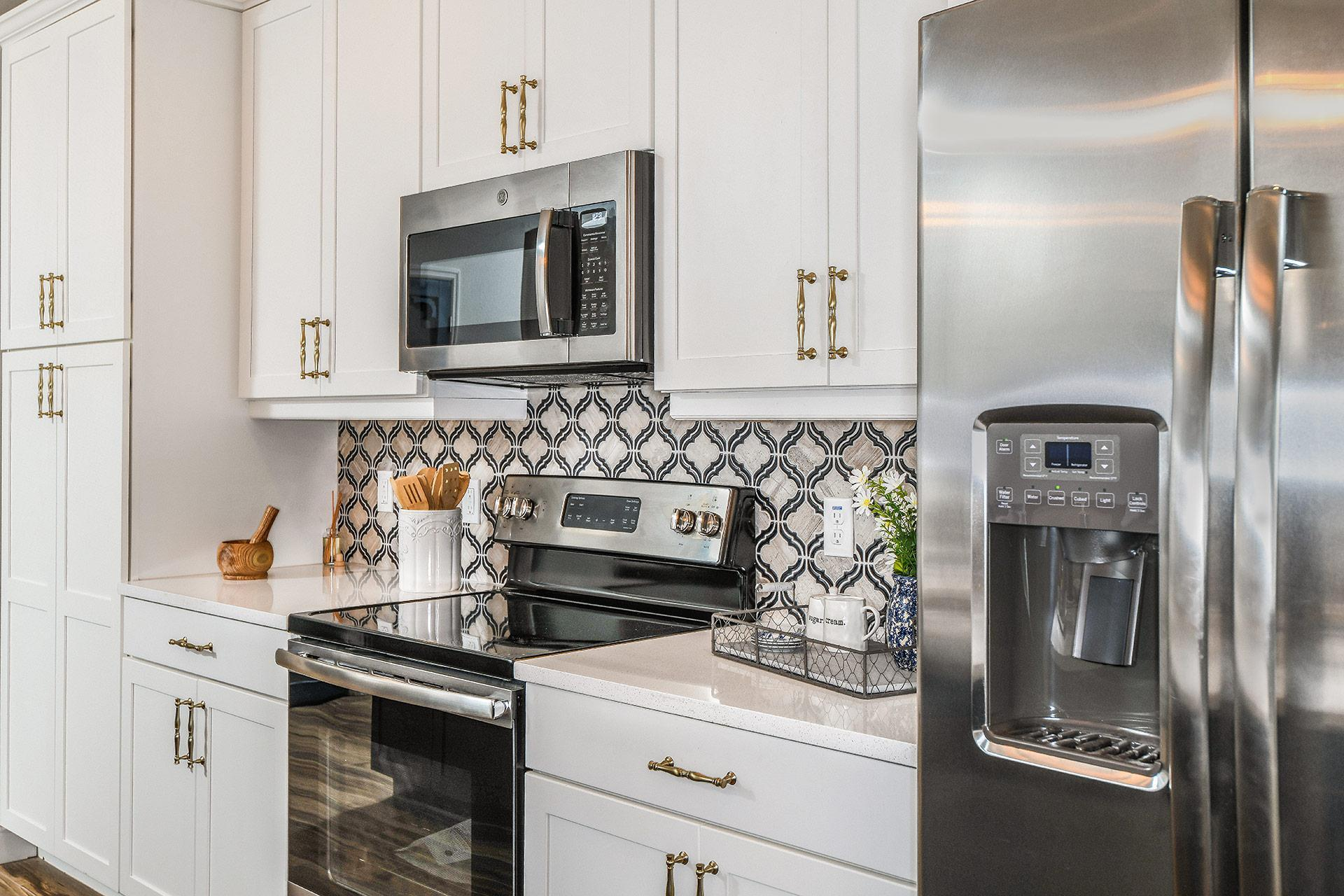 Kitchen featured in the Capri Del Lago By Mobley Homes in Tampa-St. Petersburg, FL