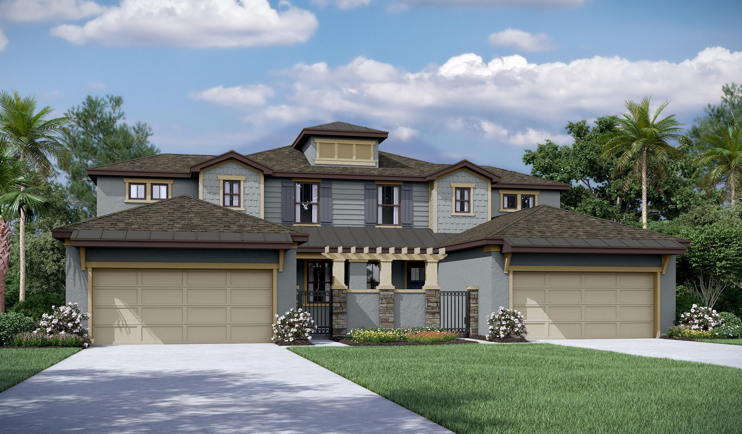 Exterior featured in the Vienna Del Lago By Mobley Homes in Tampa-St. Petersburg, FL
